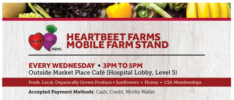 Heartbeet Farms - Every Wednesday from 3pm to 5pm