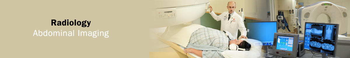 Radiology Abdominal Imaging Banner Imagery